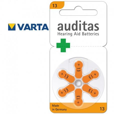 Batérie do načúvacích prístrojov A13, 1,4 V - 60 ks